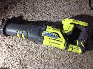 Ryobi 18V Brushless Sawzall! Only $40 for Sale in Irving, TX