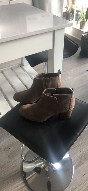 Timberland Suede Ankle Boots in Tan for Sale in Washington, DC