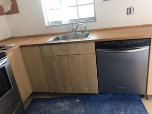 IKEA complete kitchen with butcher block countertop for Sale in Tampa, FL