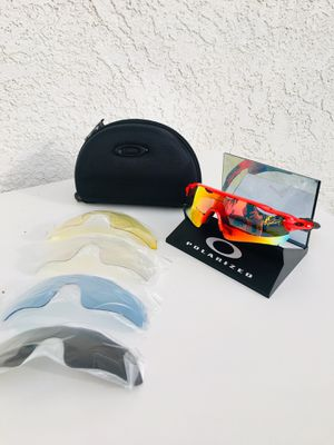 NEW Polarized Oakley Radars Sport Glasses Baseball/ Softball/ Golf/ Cycling / Outdoors for Sale in Industry, CA