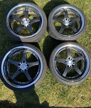 Volk Rays OGs RoJa wheels , Discontinued Wheels 18/19 for Sale in Chino Hills, CA