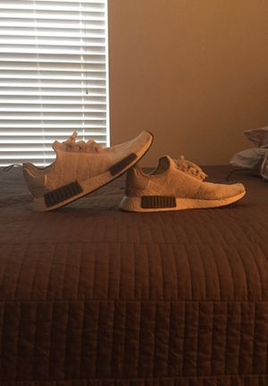 Adidas NMD (Olive Green and off-White) for Sale in Casselberry, FL