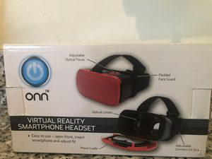 ONN Virtual Reality Smartphone headset for Sale in Reston, VA