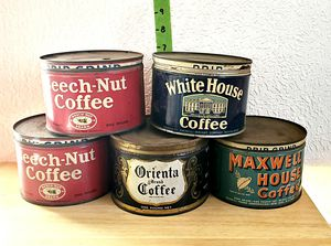 1930s Coffee cans for Sale in Camp Hill, PA