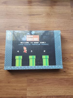 Super Mario Bros. World 1-2 Welcome to Warp Zone! Puzzle for Sale in Palatine, IL
