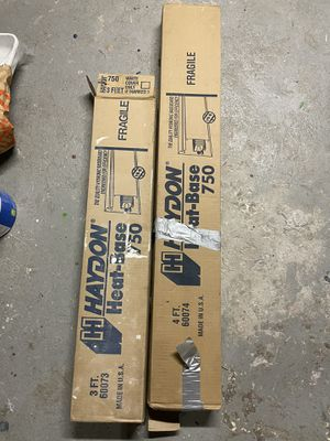 4' and 3' Haydon Heat-Base Hydronic baseboard (White) for Sale in Queens, NY