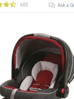Graco SnugRide Click Connect 35 Infant Car Seat - Chili Red for Sale in Balch Springs,  TX
