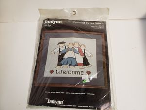 New Amish Cross Stitch Craft Kit for Sale in Sanatoga, PA