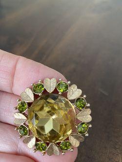 Avon Rhinestone Brooch Pendant Pin for Sale in Zephyrhills,  FL