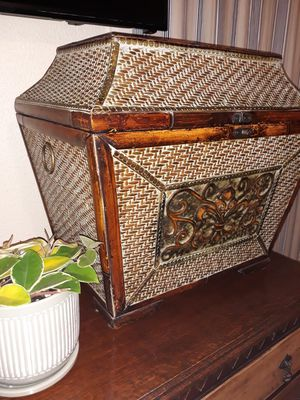 Antique wooden chest for Sale in Fort Worth, TX