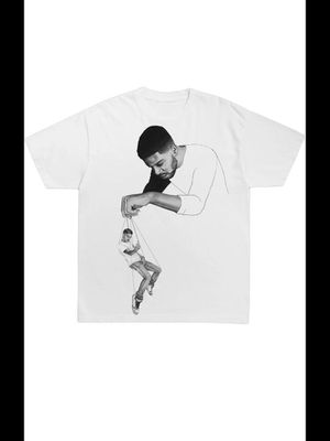 """Kid Cudi X Virgil Abloh """"Pulling Things"""" T-Shirt Size M/Supreme/Off white/ Bape for Sale in San Jose, CA"""