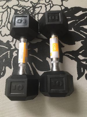 Set of 10 pound dumbbells, brand new for Sale in Phoenix, AZ