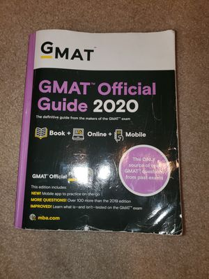 GMAT Official Guide 2020 for Sale in Bellevue, WA
