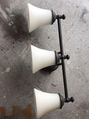 Triple light bathroom fixture for Sale in Weston, FL