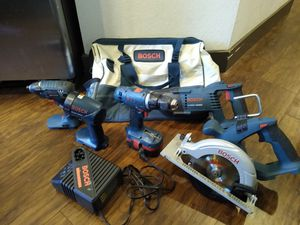 Bosch Tool Set With Bag for Sale in Anaheim, CA