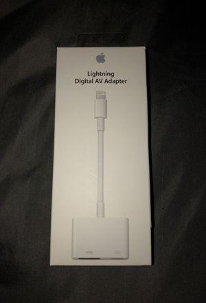 Brand New Iphone Lightning Digital AV Adapter for Sale in Gwynn Oak, MD