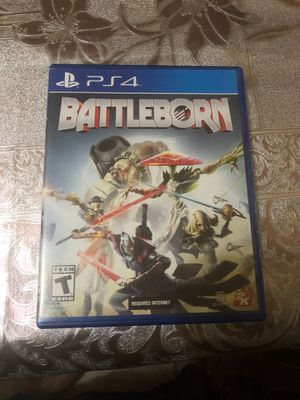 Battle born for PS4 never used for Sale in Buffalo, NY