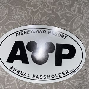 Annual Pass holder bumper Magnet for Sale in Whittier, CA