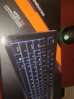 19 Inch Gateway Montior And Steel Seried Gaming Rgb Mouse And Rgb Keyboard Brand new Looking For Trade for Sale in Camden,  AL