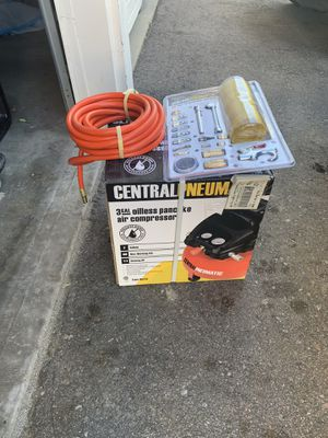 Central Pneumatic Air Compressor & Accessories NEW for Sale in Denver, CO