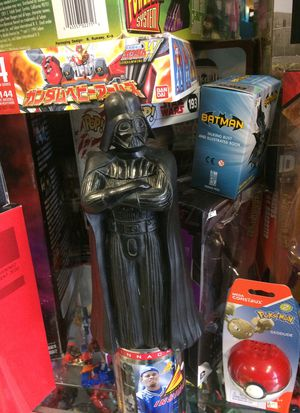 Star Wars Darth Vader bank from 1983 $12 for Sale in Bartlett, IL