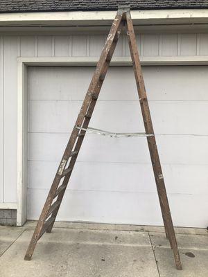 12 foot wood ladder for Sale in Carleton, MI