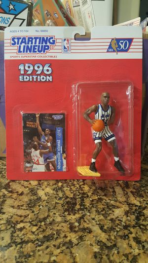 1996 starting lineup Shaquille O'neal for Sale in Tucson, AZ