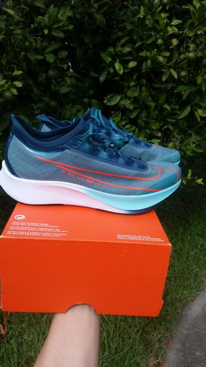 New Nike Zoom Fly 3 Premium Hakone men size 7.5 running shoes for Sale in Metairie, LA