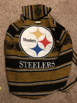 Steelers Football Backpack for Sale in Hemet, CA