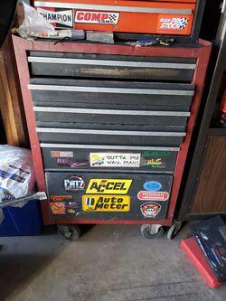 5 Drawer Work Tool Box for Sale in Spokane, WA