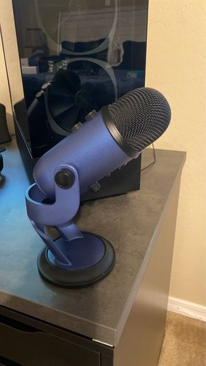 Blue yeti mic and boom arm for Sale in Gilbert, AZ
