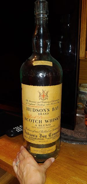 Hudson's Bay brand Scotch whiskey bottle antique for Sale in Henderson, NV