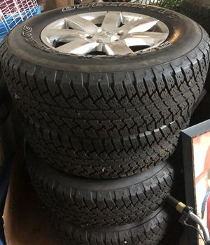 """5 18"""" almost new Jeep Wrangler tires for Sale in Conyers, GA"""