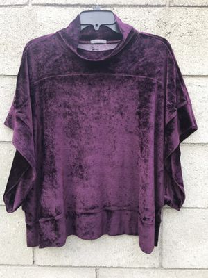 Errant - Chelsea Velour Poncho -small for Sale in Los Angeles, CA
