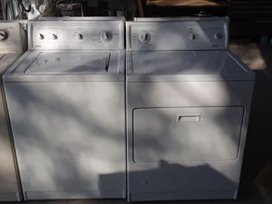 Kenmore white washer gas dryer set for Sale in Oceanside, CA