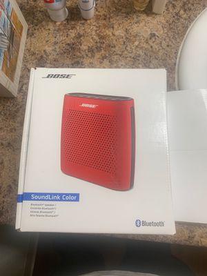 Bose soundlink color speaker brand new for Sale in West Covina, CA
