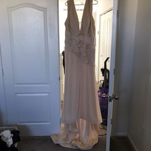 Champagne Wedding Dress for Sale in North Las Vegas, NV