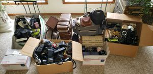 Camera parts and cases, etc. for Sale in Mill Creek, WA