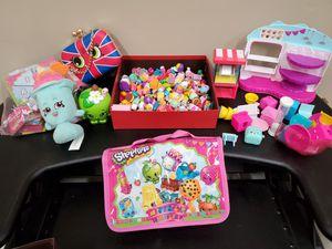 Shopkins lot shopkins board game shopkins purse for Sale in Dearborn, MI