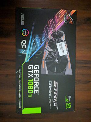 Nvidia GTX 1080ti Strix OC for Sale in Arlington, VA