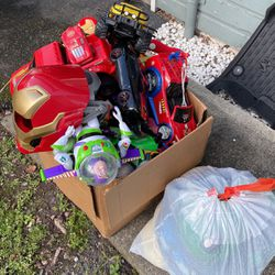 Free Box Of Toys for Sale in Kent,  WA