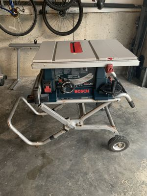 Bosch table saw for Sale in Kirkland, WA
