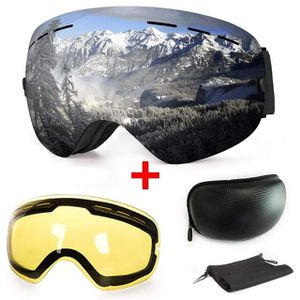 Anti-Fog UV Protection Winter Snow Sports Snowboard Goggles with Interchangeable Spherical Dual Lens for Men Women & Youth Snowmobile Skiing Skating for Sale in NJ, US