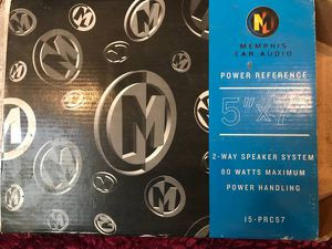 MEMPHIS Car Audio POWER REFERENCE 2-WAY SPEAKER for Sale in Brooklyn, NY