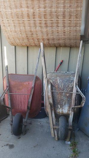 Free Wheelbarrows: PENDING PICK UP for Sale in Pomona, CA