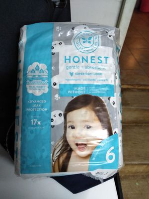 Honest Diapers size 6 for Sale in Murfreesboro, TN
