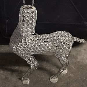 Metal Deer With Glass Decorations Around Body for Sale in Brooklyn, NY