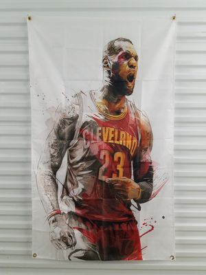 Lebron James Cleveland Cavaliers 5ftx3ft NBA Banner *NEW🔥SAME DAY SHIPPING! for Sale in Manassas, VA