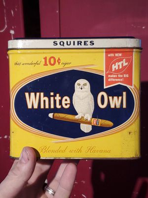 Vintage White Owl cigar tin for Sale in Columbus, OH