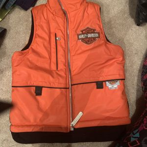 Kids Harley Davidson reversible vest for Sale in Kearneysville, WV